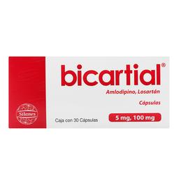 Bicartial Silanes30 Cápsula(s)AmLodipino 5 mg Losartán 100 mg