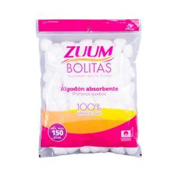 Zuum Algodon Absorbente Bolitas