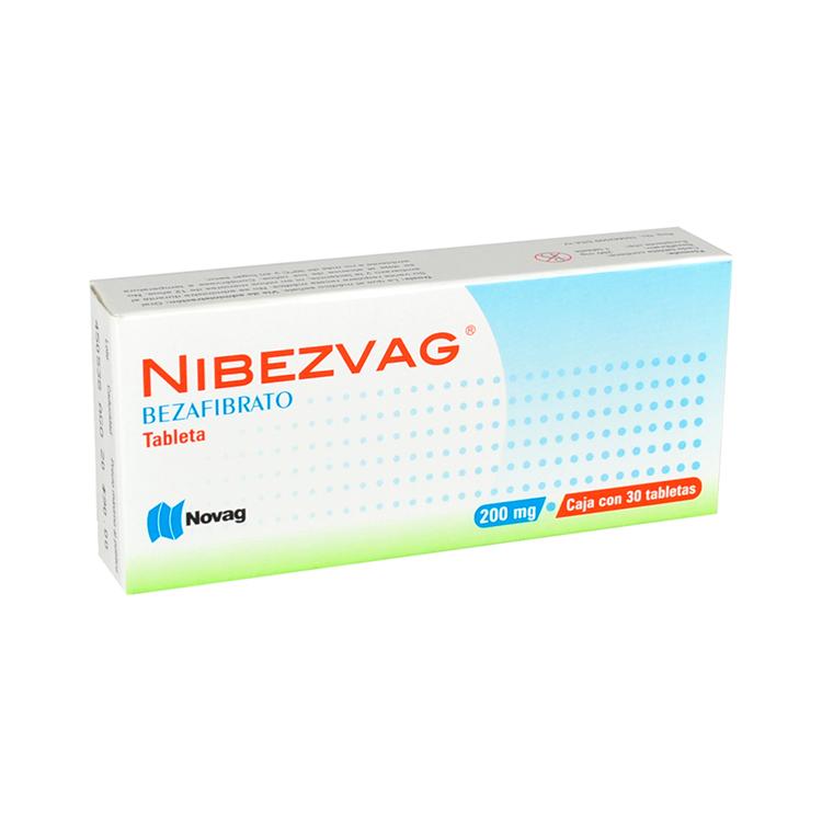 Comprar Nibezvag Con Bezafibrato (200 Mg)