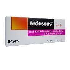 Otros Ardosons (25 Mg/0.75 Mg/215 Mg)