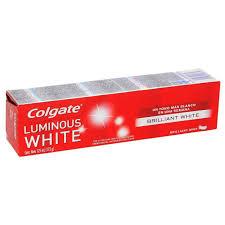 Colgate Pasta De Dental  Luminous White Brilliant White