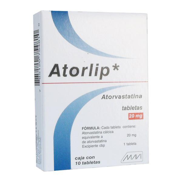 Comprar Atorvastatina 20 Mg