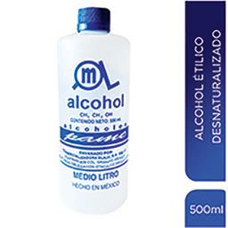 Alcohol Etílico Pame Desnaturalizado 500 mL