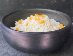 Arroz Blanco con Camote