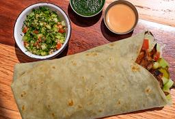 Lafa de Shawarma de Pollo