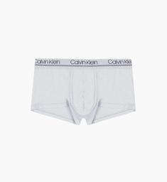 Boxer de Tiro Bajo CK Underwear Men Gris Active  NB2174-063