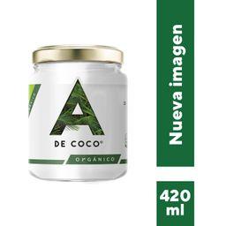 a de Coco Aceite Orgánico