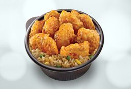 Orange Chicken + Arroz Frito