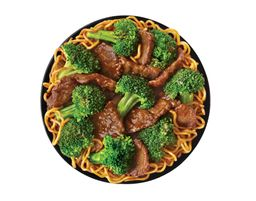 Broccoli Beef + Chow Mein