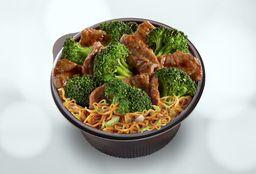 Broccoli Beef + Chow Mein