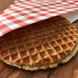 Stroopwafel Individual con Topping