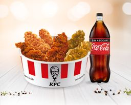 Chick'n Share Ke - Tiras + Coca Cola