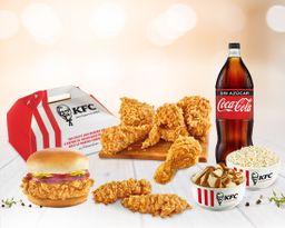 Paquete Mix + Coca Cola
