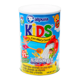Alpura Kids Leche En Polvo Con Miel Y Cereal