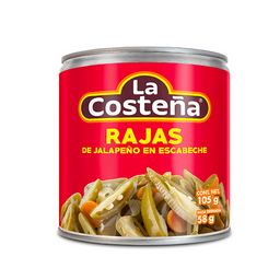 La Costeña Chiles Jalapeños Rajas en Escabeche
