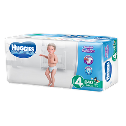 Huggies Panal Ultra Etapa 4 Nino S