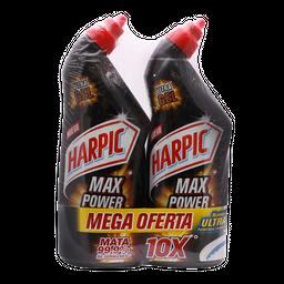 Harpic Limpiador  Max Power Original X 2