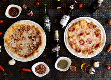 Pizza Italiana y Cervezas