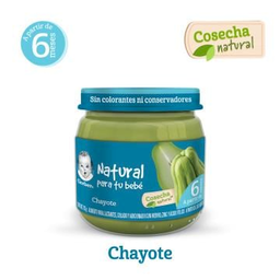 Gerber Cosecha Natural Chayote Etapa 2.