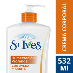 St. Ives Crema Corporal Humectacion Profunda