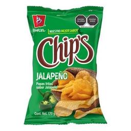 Chips papas con jalapeño
