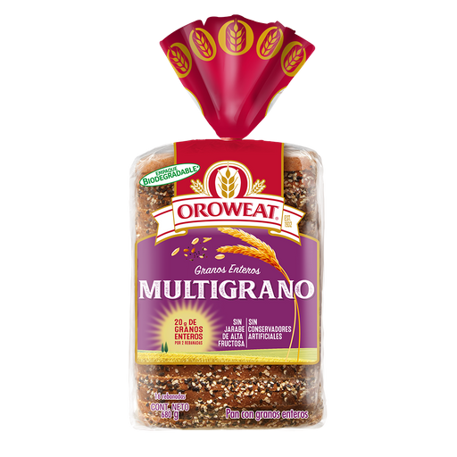 Oroweat pan multigrano