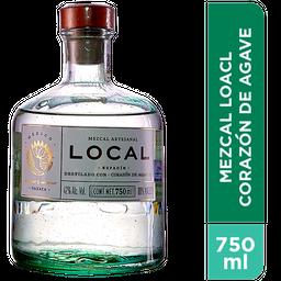 Mezcal Local Corazon de Agave Botella 750 mL