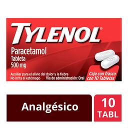 Tylenol Auxiliar En El Alivio Del Dolor Y Fiebre