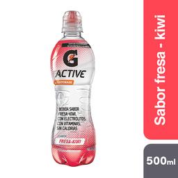 Gatorade Bebida Isotónica  Active Water Fresa Kiwi