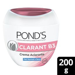Ponds Crema Ponds Clarant B3 Crema Facial Con Filtro Uv