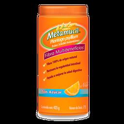 Metamucil Fibra Natural Sabor Naranja