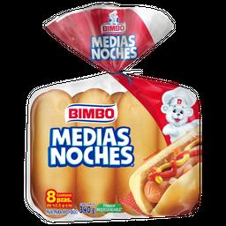 Bimbo Pan Para Hot-Dog Medias Noches