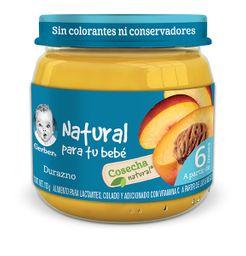 Gerber Cosecha Natural Durazno Etapa 2