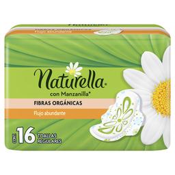 Naturella Toallas Femeninas  C Manzanilla Regular Con Alas