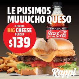 Combo BigCheese Burger