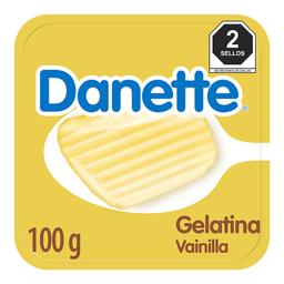 Gelatina A Base De Leche Danette Vainilla 100G