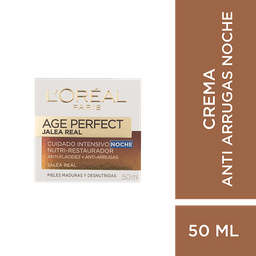 Loreal Paris-Age Perfect Crema Antiedad Noche
