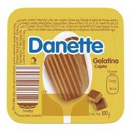 Gelatina A Base De Leche Danette Cajeta 100G