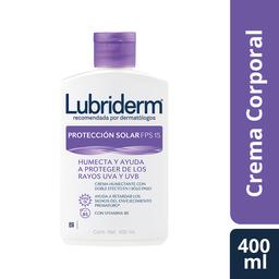 Lubriderm Crema Corporal  Proteccion Solar Fps 15