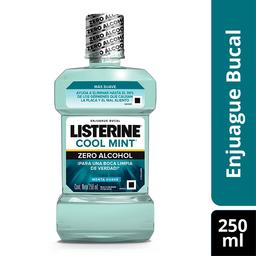 Listerine Enjuague Bucal Zero Alcohol