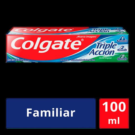 Colgate Pasta Dental Triple Acción Menta Original 100 Ml