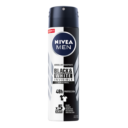 Nivea Men Antitranspirante Invisible Power Spray