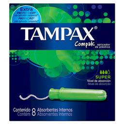 Tampax Tamponesflujo Super Abundante
