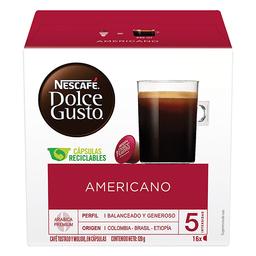 Nescafé-Dolce Gusto Capsulas De Cafe Americano
