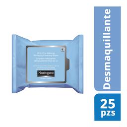 Toallitas Desmaquillantes Neutrogena  25 Piezas