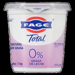 Fage Natural S Grasa
