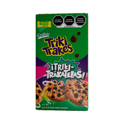 Triki Trakes galletas con chispas