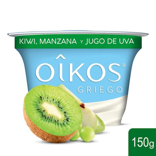 Oikos Yoghurt Griego Con Kiwi Mazana y Jugo de Uva