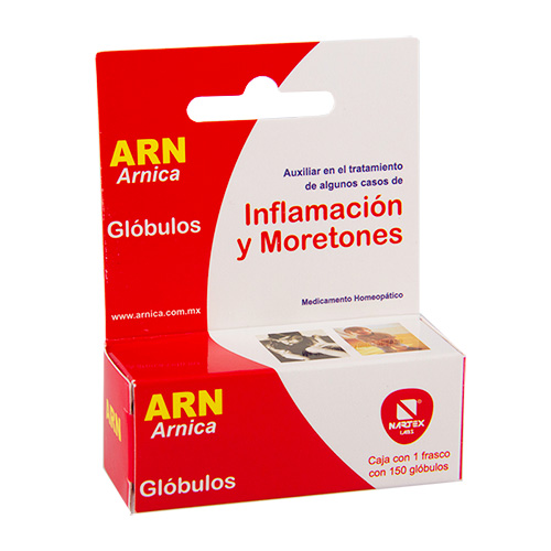 Comprar ARN Árnica Montana Glóbulos tratamiento de inflamación