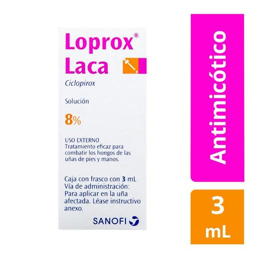 Loprox Laca Solución (8%)